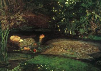 Sir John Everett Millais : Ophelia
