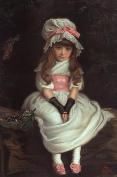 Sir John Everett Millais : Cherry Ripe
