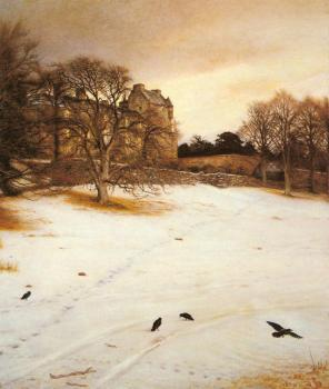 Sir John Everett Millais : Christmas Eve