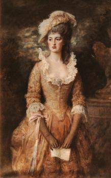 Sir John Everett Millais : CLARISSA