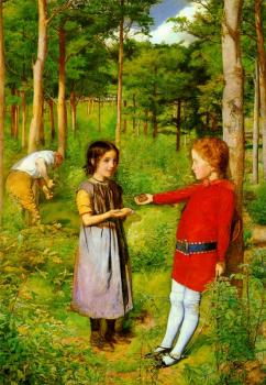 Sir John Everett Millais : hunters daughter