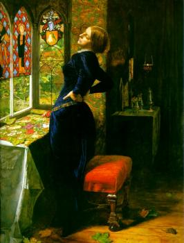 Sir John Everett Millais : Mariana