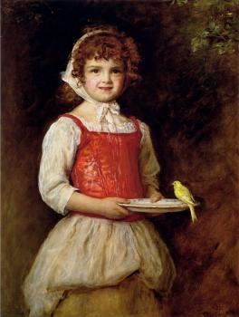 Sir John Everett Millais : Merry