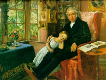 Sir John Everett Millais : portrait of Wyatt