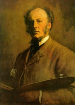 Sir John Everett Millais : self portrait