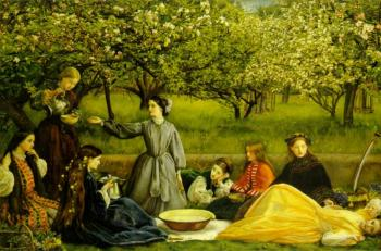 Sir John Everett Millais : Spring
