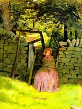 Sir John Everett Millais : Waiting