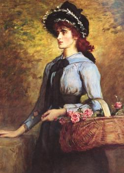 Sir John Everett Millais : Sweet Emma Morland
