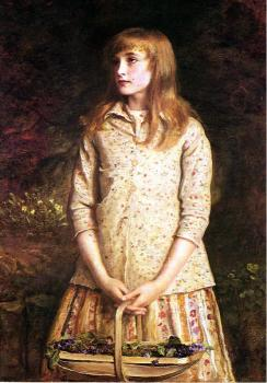 Sir John Everett Millais : Sweetest eyes were ever seen