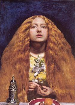 Sir John Everett Millais : The Bridesmaid