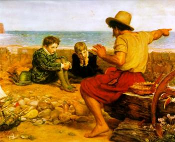 Sir John Everett Millais : the childhood of walter raleigh