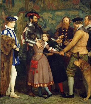 Sir John Everett Millais : The Ransom