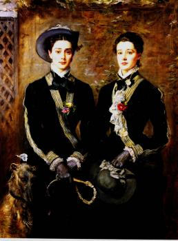 Sir John Everett Millais : twins