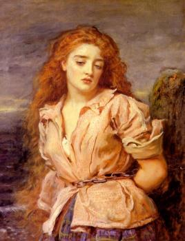 Sir John Everett Millais : The Matyr of the Solway