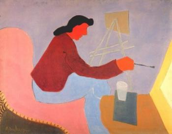 Milton Avery : Female painter