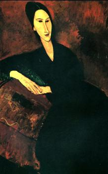 Amedeo Modigliani : Portrait of Anna Zborowska