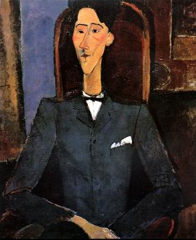 Amedeo Modigliani : Portrait of Jean Cocteau
