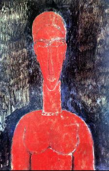 Amedeo Modigliani : Amedeo Modigliani painting