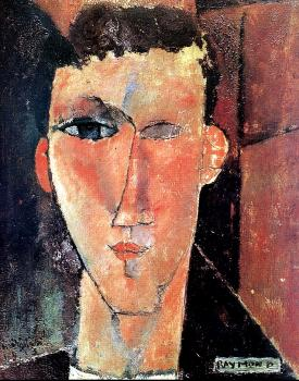 Amedeo Modigliani : Portrait of Raymond