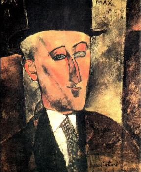 Amedeo Modigliani : Portrait of Max Jacob
