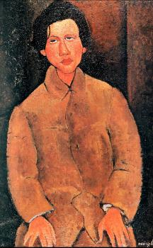 Amedeo Modigliani : Chaim Soutine