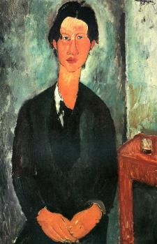 Amedeo Modigliani : Portrait of Chaim Soutine