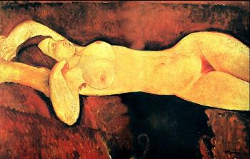 Amedeo Modigliani : Reclining Nude