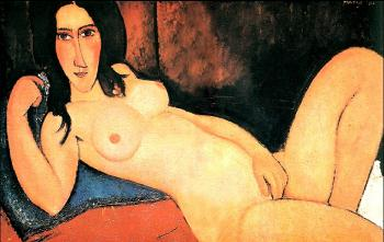 Amedeo Modigliani : Reclining nude II