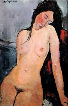 Amedeo Modigliani : Female nude
