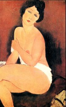 Amedeo Modigliani : Seated Nude