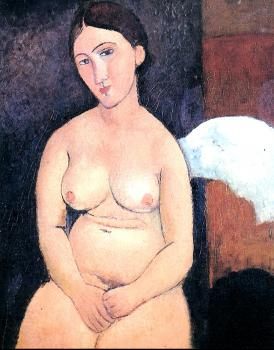 Amedeo Modigliani : Seated Nude II