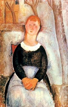 Amedeo Modigliani : he Beautiful Grocer