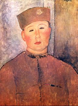 Amedeo Modigliani : Algerian soldier