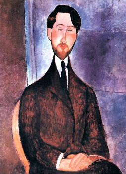 Amedeo Modigliani : Leopold Zborowski seated