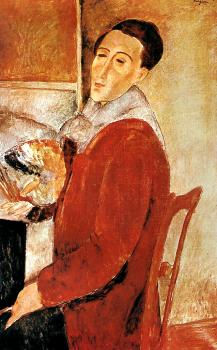 Amedeo Modigliani : Self Portrait