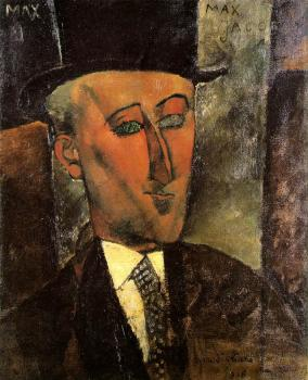 Amedeo Modigliani : Portrait of Max Jacob II