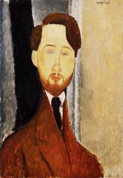 Amedeo Modigliani : Portrait of Leopold Zborowski