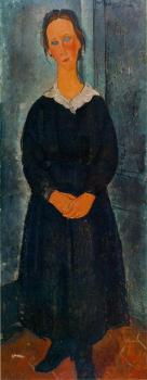 Amedeo Modigliani : La jeune bonne (The Servant Girl)