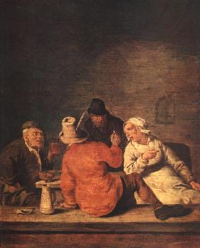 Jan Miense Molenaer : Peasants in the Tavern