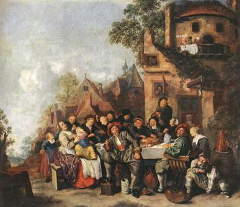 Jan Miense Molenaer : Tavern of the Crescent Moon