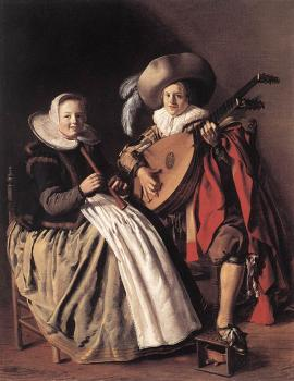 Jan Miense Molenaer : The Duet