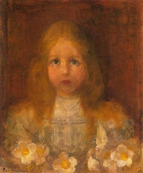 Piet Mondrian : Little Girl