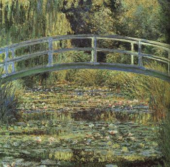 Claude Oscar Monet : The Waterlily Pond