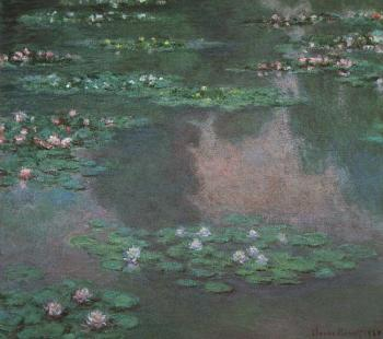 Claude Oscar Monet : Water Lillies I