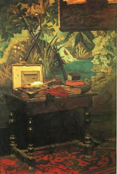 Claude Oscar Monet : A Corner of the Studio