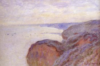 Claude Oscar Monet : Cliffs Near Dieppe