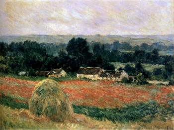 Claude Oscar Monet : Haystack At Giverny