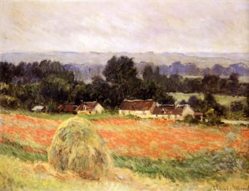Claude Oscar Monet : Haystack at Giverny II