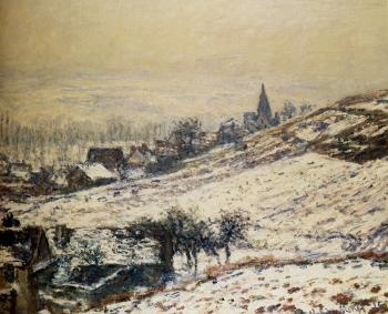Claude Oscar Monet : Winter At Giverny