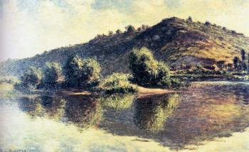 Claude Oscar Monet : The Seine At Port-Villez